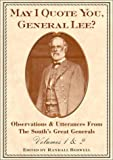 May I Quote You, General Lee?, , 0517219921