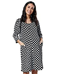 HAPPY MAMA. Womens Maternity Labor Delivery Hospital Gown Breastfeeding.637p