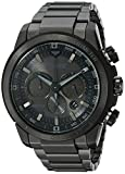 Image of Citizen Men's Eco-Drive Chronograph Stainless Steel Watch with Date, CA4184-81E
