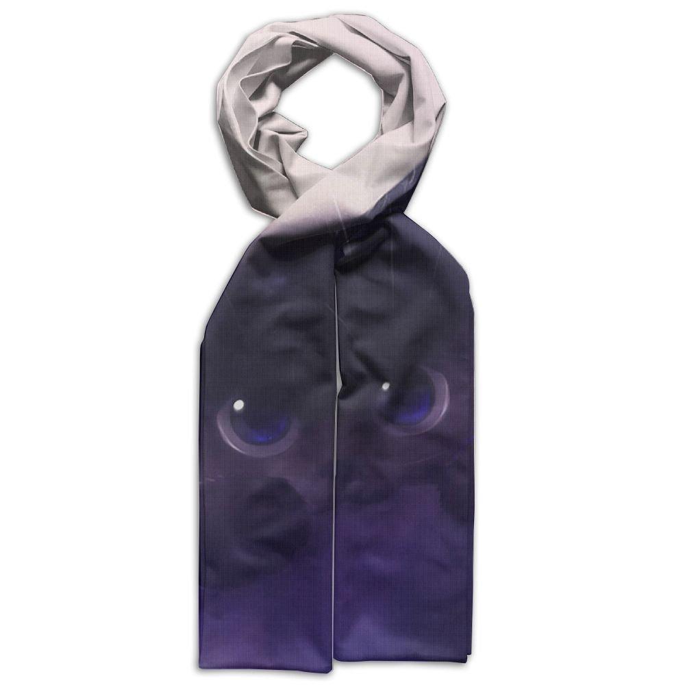 Cat Fish Purple Printing Scarf Warm Soft Fashion Scarf Shawl Kids Boys Girls