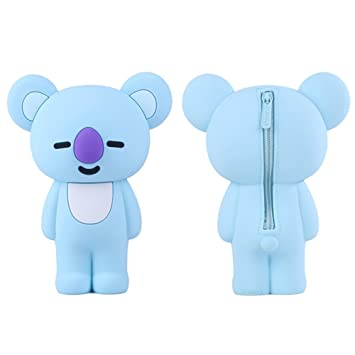 BTS Bangtan - Estuches de silicona para niños BT21 Fans Pen ...