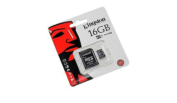 Tarjeta de memoria 16GB para Motorola Pro+ (micro SD, Adaptador SD ...