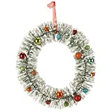 Miles Kimball Vintage Bottle Brush Wreath by NorthwoodsTM