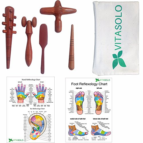 Reflexology-Massage-Tools-Set-5pcs-Foot-Face-Head-Hand