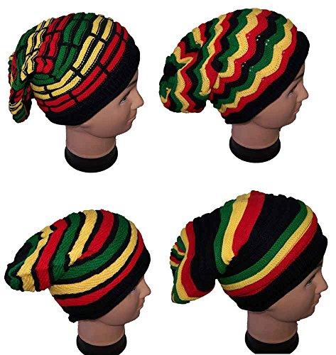 ggae Rasta Bob Marley Beanies, Winter Caps-Hats For Adults (Wca21 Z) ()
