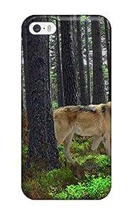 DanRobertse Iphone 5/5s Well-designed Hard Case Cover Wolf Animal Predator Protector