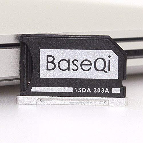 MBPR * Bosvision Adaptateur Micro SD en Aluminium avec bords argent/és pour MacBook Pro Retina 13
