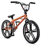Mongoose Legion Mag Freestyle BMX Bike, 20-Inch Wheels, Orange