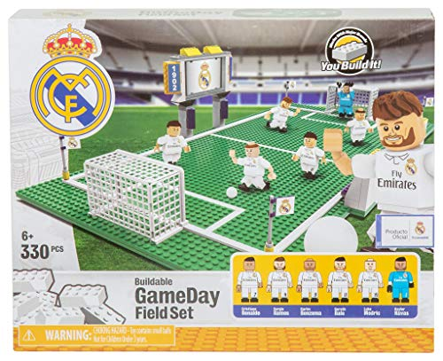 (Basic Fun Soccer Game Day Field Set - Real)