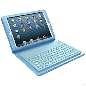 mgear bluetooth keyboard case for ipad mini blue computers accessories. Black Bedroom Furniture Sets. Home Design Ideas