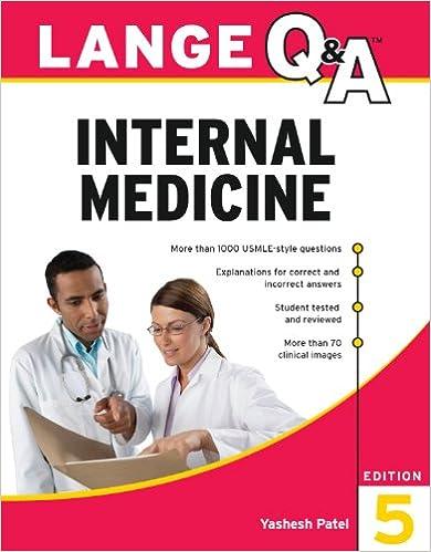 Kết quả hình ảnh cho Lange Q&A Internal Medicine