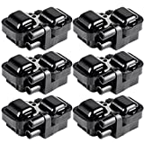 bosch 00107 - ECCPP Ignition Coils Pack of 6 Compatible with Mercedes-Benz 1997-2011 Replacement for UF-359 C1444 C1361
