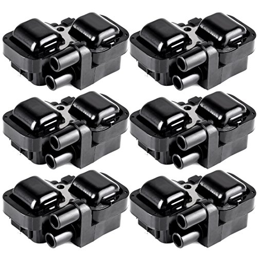 ECCPP Ignition Coils Pack of 6 Compatible with Mercedes-Benz 1997-2011 Replacement for UF-359 C1444 C1361 ()