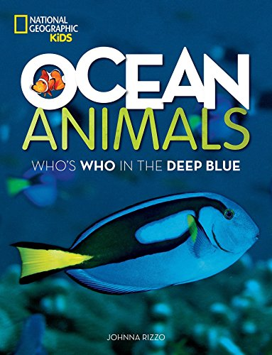 Ocean Animals Whos Who in the Deep Blue [Rizzo, Johnna] (Tapa Blanda)