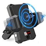 Wireless Car Charger, WiLEES Automatic Qi Wireless Car Charger Air Vent Phone Holder, True Single Hand Car Phone Mounting for iPhone X 8/8 Plus Samsung Galaxy S9 S9 Plus S8 S7/S7 Edge Note 8 5