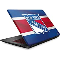 NHL New York Rangers Omen 15in Skin - New York Rangers Jersey Vinyl Decal Skin For Your Omen 15in