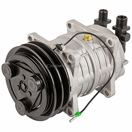 AC Compressor & A/C Clutch Replaces Tama TM-16HS 12v 488-46011 2521180 - BuyAutoParts 60-02956NA New