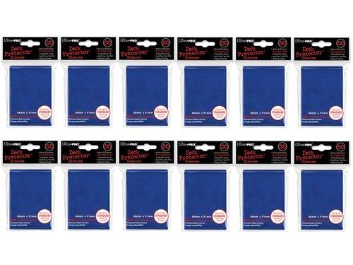 ((600x) Ultra PRO Blue Deck Protectors Sleeves Standard MTG Colors)