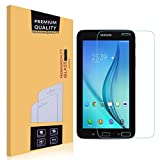 Samsung Galaxy Tab E Lite 7.0 Glass Screen Protector,EasyULT Premium Tempered Glass Screen Protector for Samsung Galaxy Tab E Lite 7.0-[Tempered Glass][Ultra Clear][9H Hardness] [Crystal Clear][Scratch-Resistant] [Easy-Install Wing]