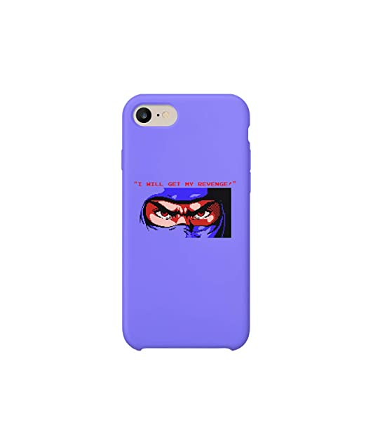 Glamourlab Ninja Gaiden Get My Revenge Eyes Block R2071 Carcasa De Telefono Estuche Protector Case Cover Hard Plastic Compatible With For Iphone 8 Novelty Present Birthday Amazon Co Uk Electronics