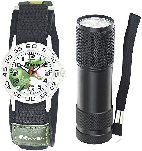 子供用恐竜腕時計 マイクロトーチセット R4401