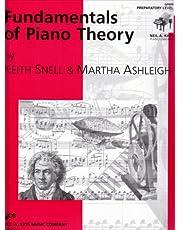 Fundamentals of Piano Theory: Preparatory