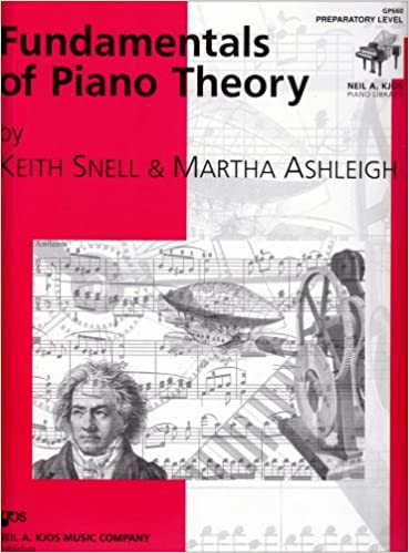 gp660 fundamentals of piano theory preparatory level