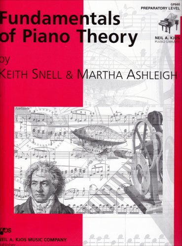 GP660 - Fundamentals of Piano Theory - Preparatory Level