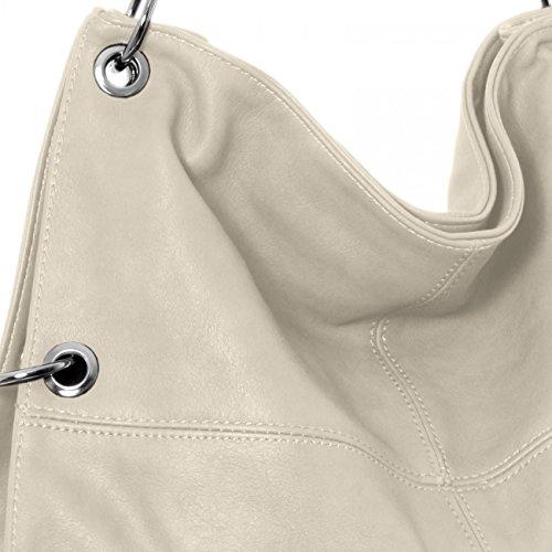 bandoulière Gris porté TS561 plusieurs à à coloris pour multifonction Sac main CASPAR l'épaule femme nvO0wSqqd