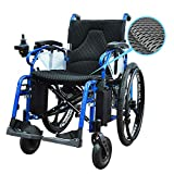"800AX (14"") Right Hand Control Lightweight Dual Function Foldable Power Wheelchair (Polymer Li-ion Battery) with Magnesium Alloy Rim. Drive with Power or use as Manual Wheelchair."