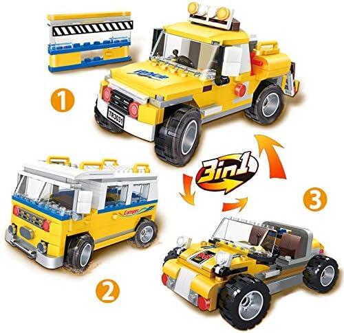 Intelligent Fun Education Build 348pcs Campervan Construction Set