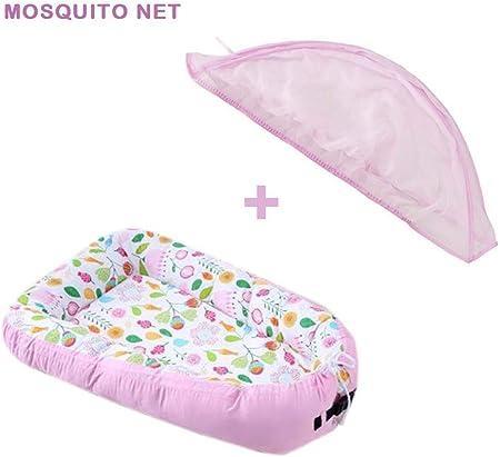 Eternitry Nueva Cama de Cuna de Maternidad, Cuna portátil, Cama de Cuna con mosquitera
