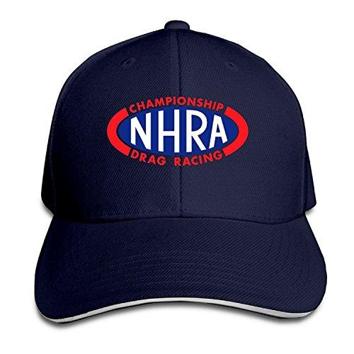 2ebad3ce16eef Z-Jane NHRA Racing Running Baseball Cap Hip Hop Cap Adjustable Snapback  Flat Bill Navy