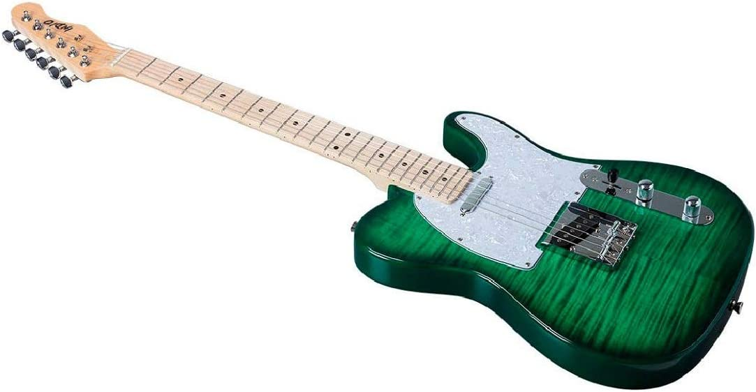 Monoprice Indio Retro DLX - Guitarra eléctrica con bolsa de ...