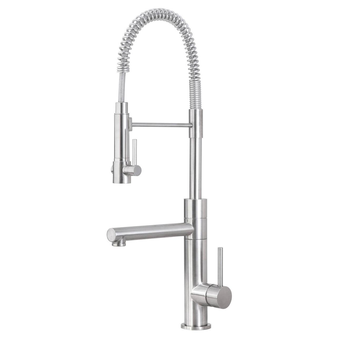 artisan af 660 sn premium collection single handle kitchen faucet