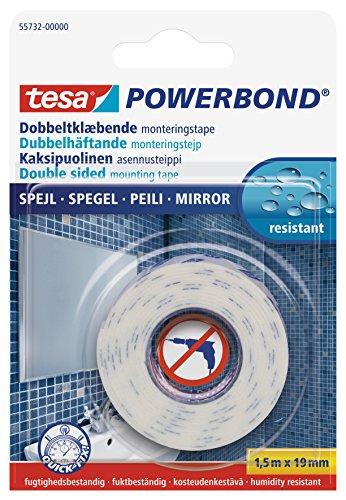 tesa 55732-00001-00 Adhesive Fixation Tape for Mirrors