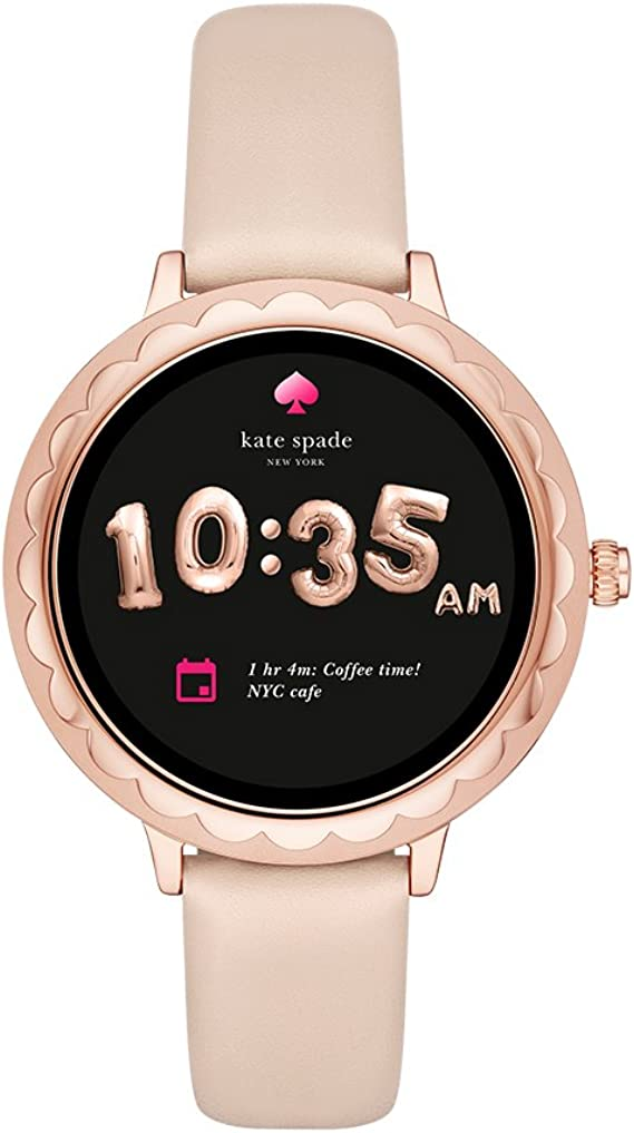 Amazon.com: Kate Spade Scallop - Reloj inteligente con ...