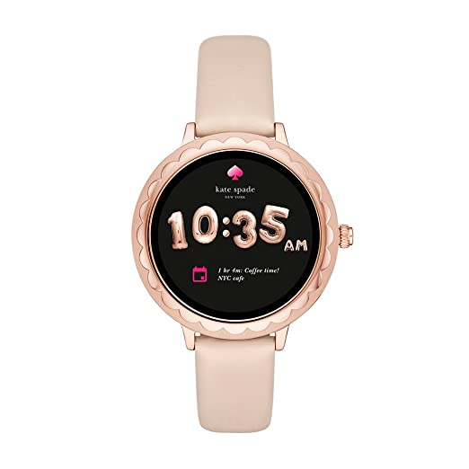 Amazoncom Kate Spade New York Scallop Touchscreen Smartwatch Rose