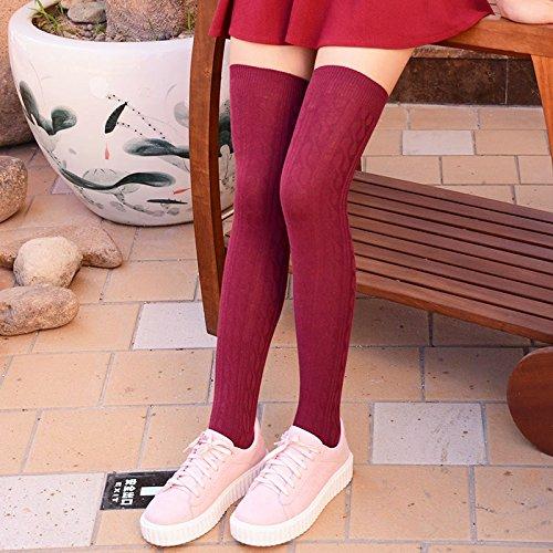 Girls winter cotton socks barreled width Among pregnant women older women waist confinement piles of socks