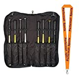Champion Sports Bat Portfolio Black with 1 Performall Lanyard BC1050-1P