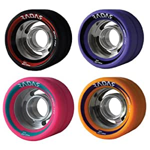 Radar Wheels Radar Devil Ray Indoor Quad Roller Skate Wheels By Riedell 94a Pink Size 8-pack