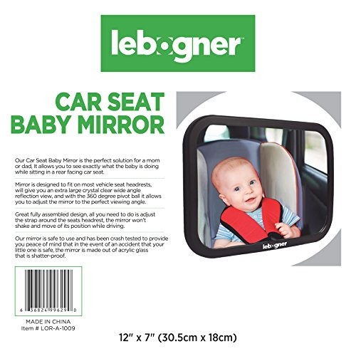 Car Seat Baby Mirror By Lebogner
