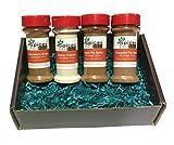 SFL Baking Lover's Variety Set (4 Bottles) - Kosher - Cinnamon Sugar, Honey Powder, Apple Pie Spice, Pumpkin Pie Spice