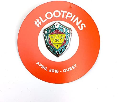 Loot Crate April 2016 Quest Pin by Loot Crate