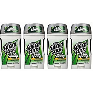 Mennen Speed Stick Deodorant Irish Spring Original, 2.7 Ounce (Pack of 4)