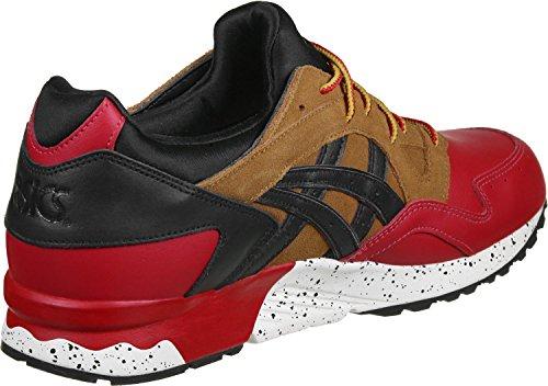 Asics Gel-lyte V Gore-tex Heren Sneaker Turquoise Hl6e2 4890 Rood Zwart 2590