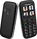 Easyfone - India's most senior citizen friendly phone (Black)