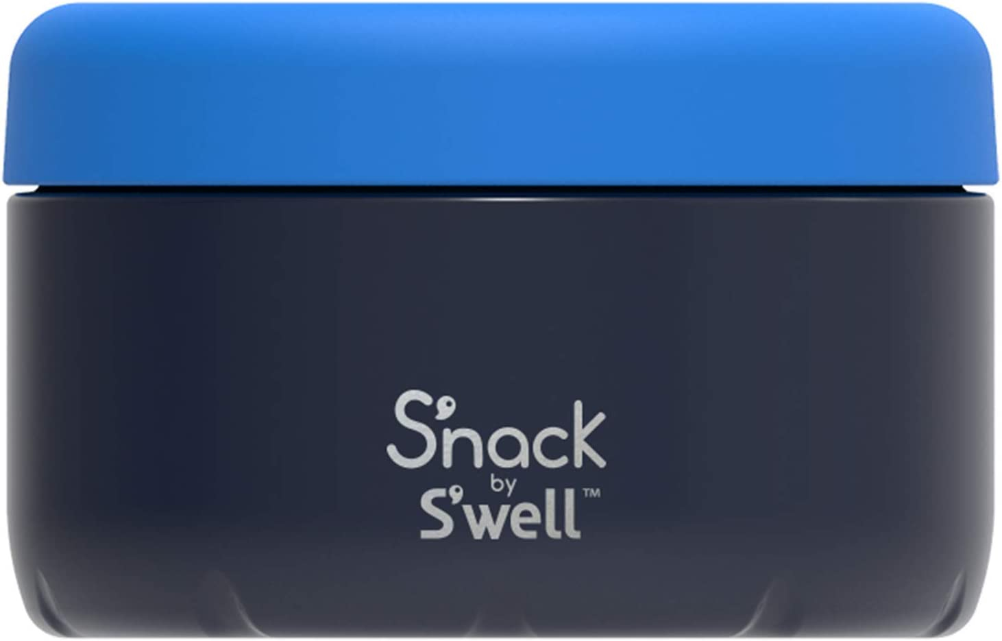 S'nack by S'well Stainless Steel Food Container - 10 Oz - Dark Navy - Double - Layered Insulated Bowls Keep Food Cold and Hot