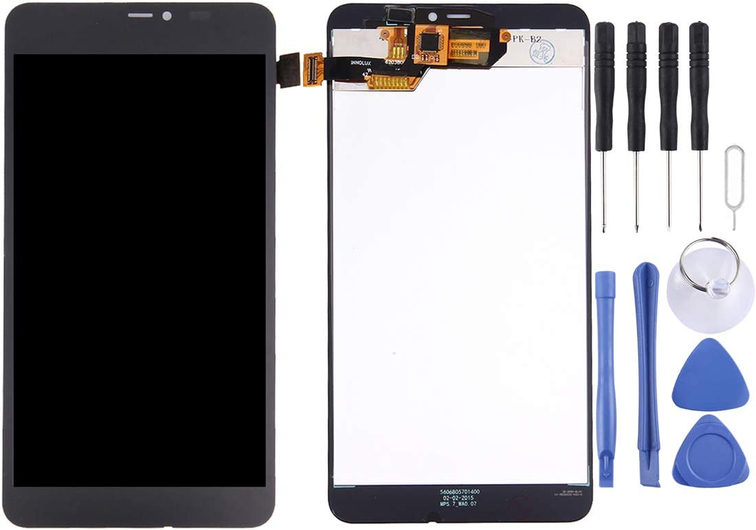 LIYUNSHU LCD Screen and Digitizer Full Assembly with Frame for Microsoft Lumia 640