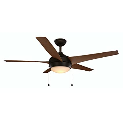 Home decorators collection windward iv 52 in integrated led indoor outdoor oil rubbed